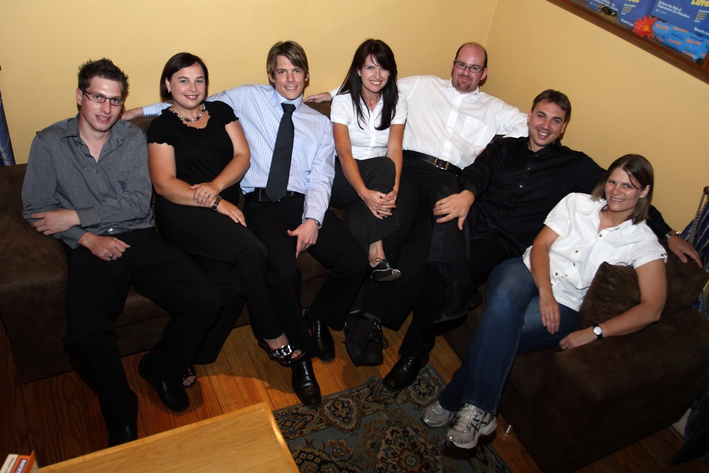 Photo of the Charl Laäs Optometrists staff