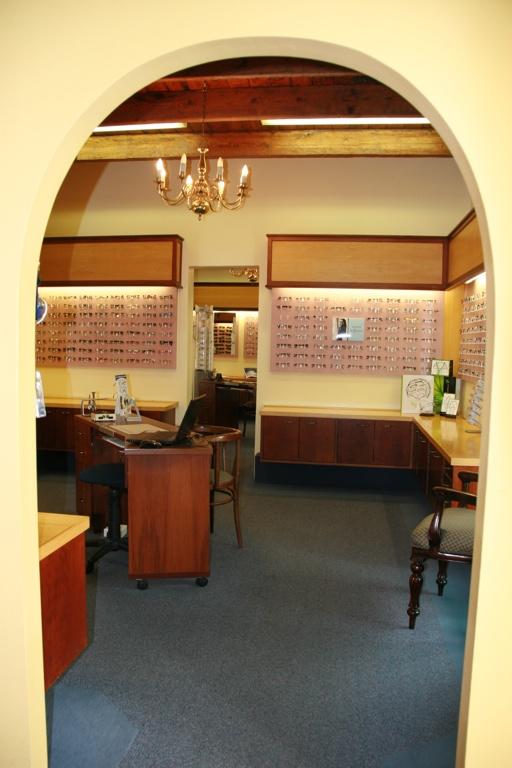 Interior photo of Charl Laäs Optometrists