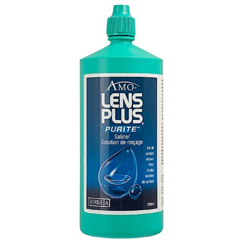 Lens Plus saline solution