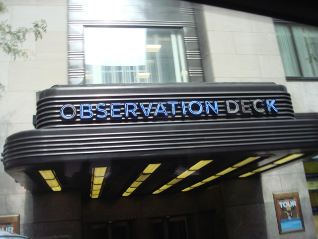 Observation Deck, the headquarters of NBC