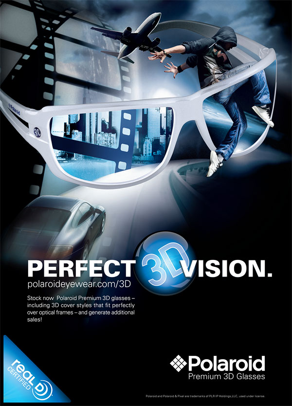 Polaroid Perfect Vision poster