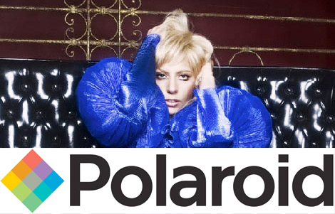 Lady Gaga endorses Polaroid