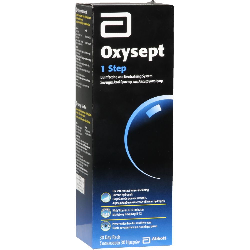 Oxysept Peroxide cleaner