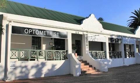 Charl Laas Optometrists Building
