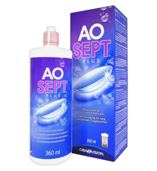 AOSept Peroxide contact lens cleaner